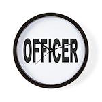 Officer Wall Clock