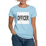 Officer (Front) Women's Pink T-Shirt