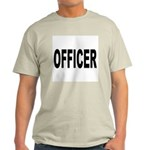 Officer (Front) Ash Grey T-Shirt
