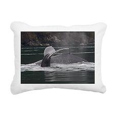 whales Rectangular Canvas Pillow