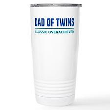 DAD OF TWINS Classic Overachiever Travel Mug