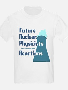 Future Nuclear Physicist Kids T-Shirt