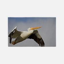 White Pelican Departure 3'x5' Area Rug
