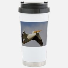 White Pelican Departure Travel Mug