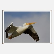 White Pelican Departure Banner