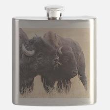 bison friendship Flask