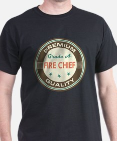 Fire Chief Retro T-Shirt