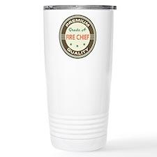 Fire Chief Retro Travel Mug