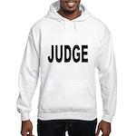 Judge (Front) Hooded Sweatshirt