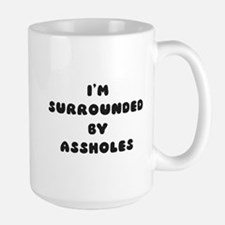 surrounded Mugs