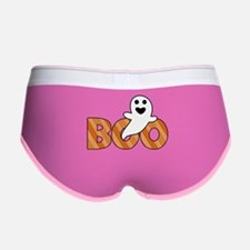 BOO Spooky Halloween Casper Women's Boy Brief