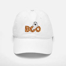 BOO Spooky Halloween Casper Baseball Baseball Cap