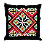 Folk Design 1 Throw Pillow