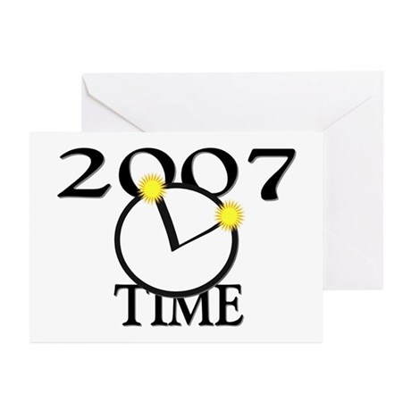 2007 Time Greeting Cards (Pk of 10)