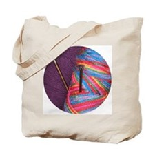 Knitter's Tote Bag