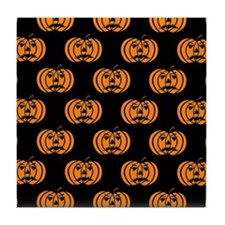 'Pumpkins' Tile Coaster