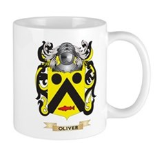 Oliver Coat of Arms (Family Crest) Mugs