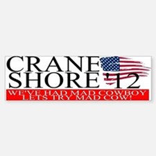 Denny Crane for President Bumper Bumper Bumper Sticker