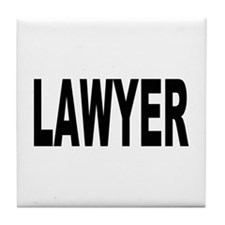 Lawyer Tile Coaster