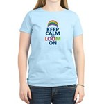 Keep Calm and Loom On Women's Light T-Shirt