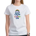 Keep Calm and Loom On Women's T-Shirt