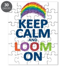 Keep Calm and Loom On Puzzle