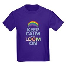 Keep Calm and Loom On T