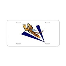 The Flying Tigers Aluminum License Plate
