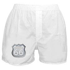 Oklahoma Route 66 - Grey Boxer Shorts