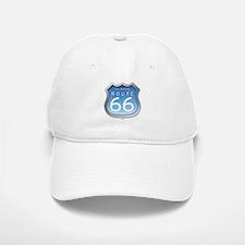 Oklahoma Route 66 - Blue Baseball Baseball Baseball Cap
