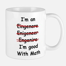 Im good with math Mugs