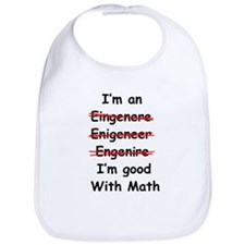 Im good with math Bib