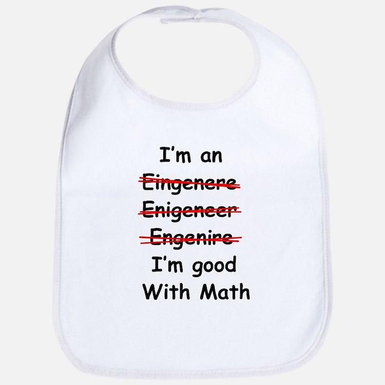 Im good with math Bib