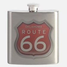 Oklahoma Route 66 - Red Flask
