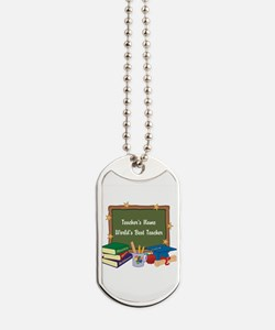 Personalized Teacher Dog Tags