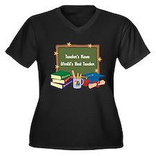 Personalized Teacher Plus Size T-Shirt