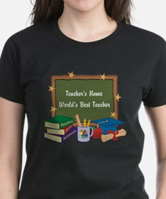 Personalized Teacher T-Shirt