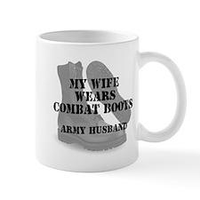 Army Husband Combat Boots Mugs