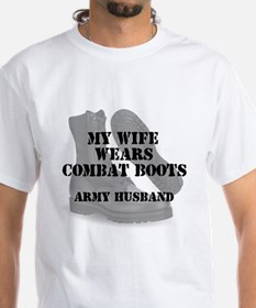 Army Husband Combat Boots T-Shirt