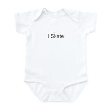 I Skate T-Shirts and Apparel Infant Bodysuit