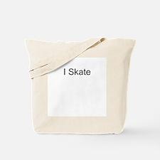 I Skate T-Shirts and Apparel Tote Bag