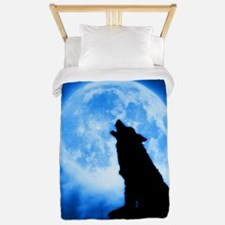 Cries of the Night Wolf Twin Duvet