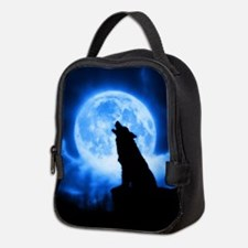 Cries of the Night Wolf Neoprene Lunch Bag