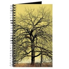 Tree in early spring yellow Journal