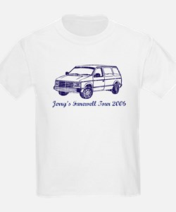 Jerry's Farewell Tour 2006 Kids T-Shirt