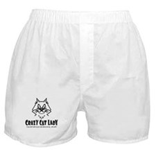 Crazy Cat Lady Boxer Shorts