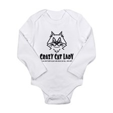 Crazy Cat Lady Body Suit