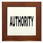 Authority Framed Tile