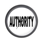 Authority Wall Clock
