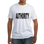 Authority Fitted T-Shirt